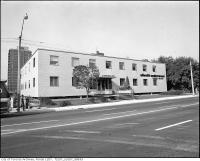 Historic photo from 1976 - 8 Spadina Road, west side, north of Bloor Street West, front, Olivetti Underwood Central Branch in The Annex