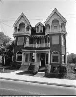 Historic photo from 1976 - 9 Spadina Road, east side, north of Bloor Street West, Karabanow Tourist Home, front in The Annex
