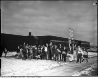 Historic photo from 1960 - Completed Nelson A. Boylen Secondary School in Maple Leaf