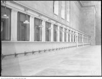 Historic photo from Wednesday, June 13, 1923 - New Union Station, row of ticket offices in Financial District