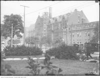 Historic photo from Tuesday, July 10, 1923 - Loretta Abbey (called Lyndhurst before that) Wellington & Spadina in Wellington Place