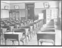Historic photo from Thursday, July 19, 1928 - Classroom in Swansea School on Windermere in Swansea