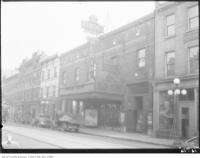 Historic photo from Monday, March 11, 1929 - Princess Theatre on the south side of King St. - University Avenue extension planning in Downtown