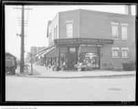 Historic photo from Friday, September 13, 1929 - Dominion Store on Yonge Street - Where Quality Counts in Bedford Park
