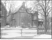 Historic photo from Friday, March 28, 1924 - Long Garth - Sir Edmund Walker, residence, 99 St. George St - built 1882, demolished 1969 in University of Toronto (U of T)