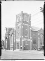 Historic photo from Tuesday, May 20, 1924 - Methodist Church, Jackman Ave & Danforth (Now Eastminster United Church) in The Danforth