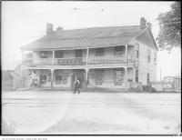 Historic photo from Friday, July 30, 1926 - Half-Way House Hotel - built 1848 by Alexander Thompson in Cliffside