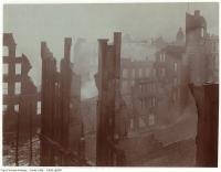Historic photo from Wednesday, April 20, 1904 - Aftermath of the 1904 fire: Bay Street looking south in Great Toronto fire of 1904