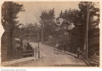 Historic photo from 1890 - South Glen Road Bridge : corner of Dale and Glen Road in Rosedale