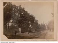 Historic photo from 1890 - Southeast corner of Sherbourne and Carlton streets : looking east along Carlton in Cabbagetown South