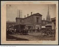 Historic photo from 1890 - St. Lawrence Market - northwest corner of Front and Jarvis streets in St. Lawrence
