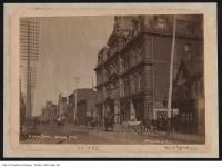 Historic photo from 1890 - Grand Opera House, 15 Adelaide St. W. - Opened 1874, demolished 1927 in Downtown