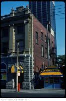 Historic photo from Tuesday, July 1, 1975 - Yonge and Charles Street - Photomat booth and Cinecity (was Postal Station F) in Church-Wellesley Village