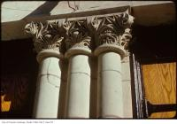 Historic photo from Tuesday, November 4, 1975 - Columns - St. George's Greek Orthodox church - classic example of a corinthian capital with volutes, acanthus, etc... in Ryerson