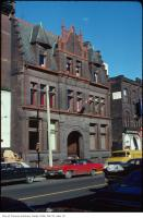Historic photo from Tuesday, November 4, 1975 - View of St. George's Hall - 14 Elm Street - The Arts and Letters Club of Toronto in Downtown