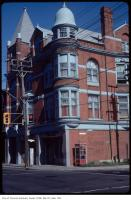 Historic photo from Saturday, May 19, 1984 - Great Hall at 1087 Queen St West at Dovercourt - southeast corner in Beaconsfield Village