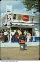 Historic photo from Sunday, August 25, 1974 - Waiting for Borden ice cream on the CNE grounds - Fudgy Wudgy 20 cents in CNE