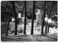 Historic photo from Sunday, December 23, 1923 - Night scene - Howard Memorial Gate in High Park