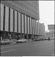 Historic photo from 1963 - 6 photos of Taxis on Yonge Street outside Eglinton station in North Toronto