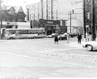 Historic photo from 1968 - Spadina Avenue and Dundas Street West intersection in Chinatown (Spadina Ave)