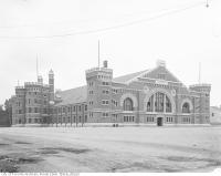 Historic photo from 1910 - West side of the Armouries on University Avenue in Downtown