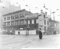 Historic photo from 1928 - Hotel Widmer : south-west corner of Bay Street and Adelaide Street in Downtown
