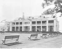 Historic photo from 1915 - Royal Canadian Yacht Club second clubhouse in Toronto Island