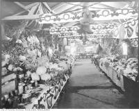 Historic photo from Saturday, December 25, 1920 - North York market Christmas display in Teddington Park