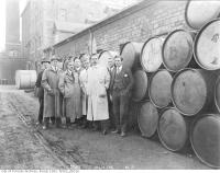 Historic photo from Thursday, November 30, 1916 - Original staff of British Acetones in Distillery District