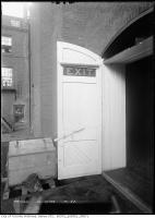 Historic photo from Friday, November 14, 1913 - Princess Theatre - ground floor fire doors - EXIT sign with shade in Downtown