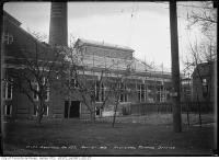Historic photo from Saturday, November 21, 1914 - Exterior of the High level pumping station under construction in Republic of Rathnelly