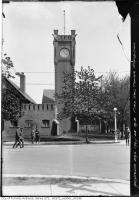 Historic photo from Tuesday, May 28, 1918 - 3:56PM Fire Hall tower, C. N. E. in Ontario Place