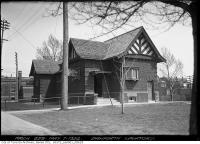 Historic photo from Wednesday, May 7, 1924 - Exterior complete at the Danforth Lavatory in The Danforth