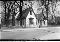 Historic photo from Wednesday, April 18, 1928 - Grange Cottage in Art Gallery of Ontario