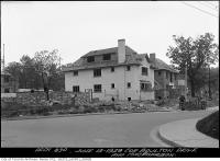 Historic photo from Wednesday, June 13, 1928 - Corner of Boulton Drive and Macpherson - #6 Boulton under construction in The Annex