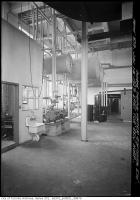 Historic photo from Monday, January 14, 1929 - East Toronto General Hospital - interior - Pumps, Tanks, Water Softener, etc in East York
