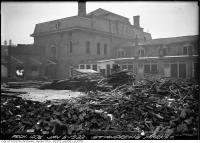 Historic photo from Tuesday, January 5, 1932 - Demolition of St. Andrews Market in Alexandra Park