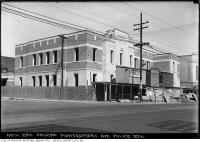 Historic photo from Tuesday, June 28, 1932 - Montgomery Avenue Police Station under construction in North Toronto