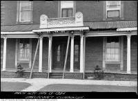 Historic photo from Friday, April 13, 1934 - Preston Villa, Cooper/Royce Home and future park clubhouse in Little Italy (St. Clair)