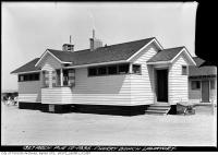 Historic photo from Monday, August 12, 1935 - Cherry Beach Lavatory in Cherry Beach