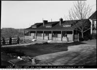 Historic photo from Tuesday, December 26, 1939 - 10, 12, 14 Eastmount Avenue overlooking Don Valley Ravine in Playter Estates