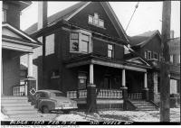 Historic photo from Tuesday, February 19, 1952 - Front of 310 Keele Street in The Junction