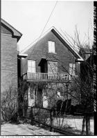 Historic photo from Tuesday, February 19, 1952 - Back of 310 Keele Street  in The Junction