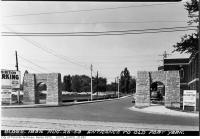 Historic photo from Wednesday, August 26, 1953 - Stone entrance to Old Fort York in Fort York