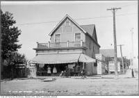 Historic photo from Thursday, August 31, 1911 - W. Pidgeon Hardware and Groceries St. Clair Avenue and Nairn Avenue in Little Italy (St. Clair)