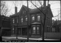 Historic photo from Wednesday, December 8, 1920 - 59-61 Grenville Street - Terauley Street Extension in Queens Park