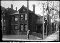 Historic photo from Thursday, February 17, 1921 - Southwest corner Grosvenor and St. Vincent - Terauley Street Extension in Queens Park