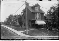 Historic photo from Wednesday, August 10, 1921 - Woodbine Avenue southeast corner Duvernet Avenue in Upper Beach