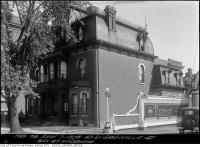 Historic photo from Friday, September 7, 1928 - Second Empire example at 49-51 Grenville Street  in Queens Park