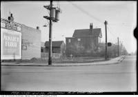 Historic photo from Tuesday, November 4, 1930 - Southeast corner Petman and Eglinton - Monarch Flour, Geo . L. Button in Davisville Village